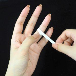 指の測り方のポイント