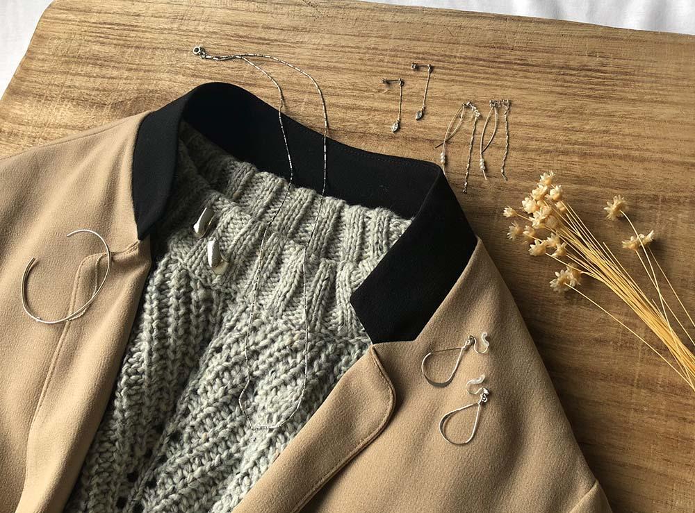 ベージュ系ファッションとのコーデ