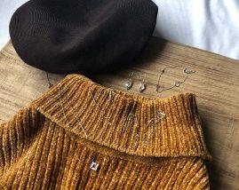 黄色系ファッションとのコーデ